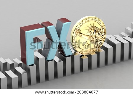 Forex Trading Concept - stock photo
