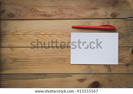 form and a pen - stock photo