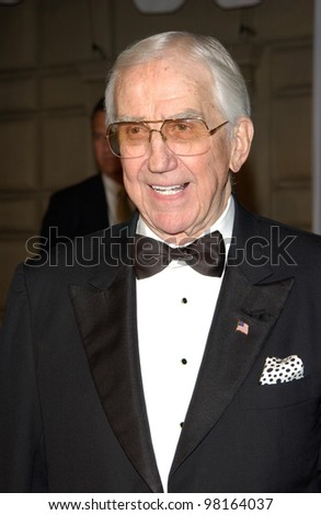 Former TV presenter ED McMAHON at the 28th Annual People's Choice Awards in Pasadena. 13JAN2002.  Paul Smith/Featureflash - stock photo