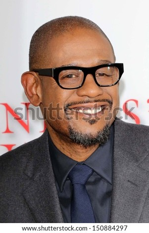 "Forrest Whitaker at ""Lee Daniels' The Butler"" Los Angeles Premiere, Regal Cinemas, Los Angeles, CA 08-12-13 - stock photo"