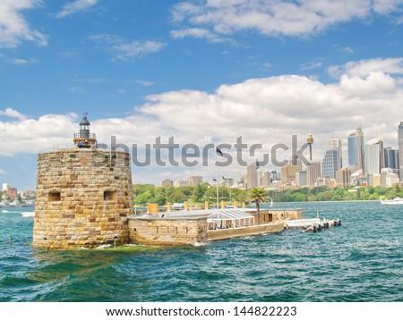 Fort Denison, Sydney, Australia - stock photo