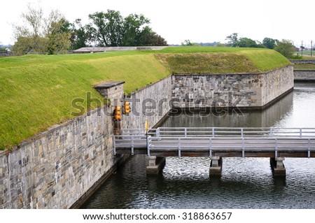 Fort Monroe National Monument - stock photo
