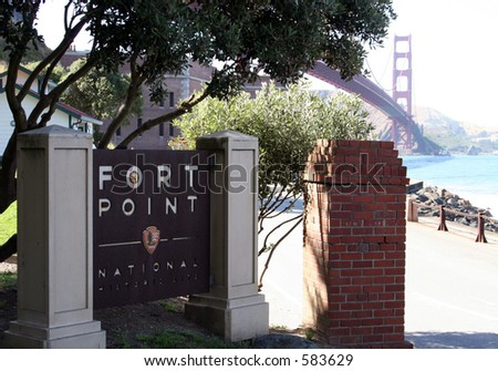 Fort Point - stock photo