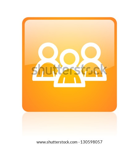 Chat button stock photos images pictures shutterstock - Chat orange ...
