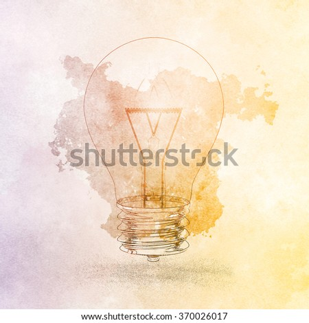 Forward Thinking Innovation for a Problem Through Ideas - stock photo
