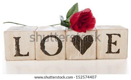 V Alphabet Images With Love Wooden Block Letters Spelling Stock Photos, Heart Wooden Block Letters ...