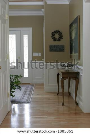 foyer - stock photo