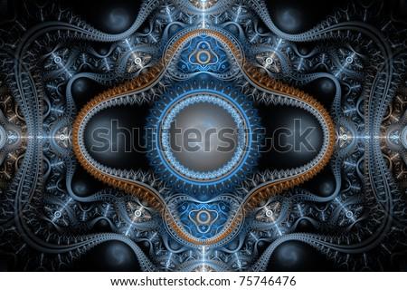 fractal - stock photo