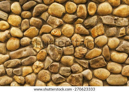 Fragment background of a stone wall for designers . - stock photo