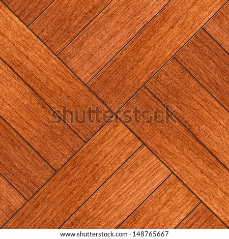 Fragment background of wooden parquet for designers - stock photo