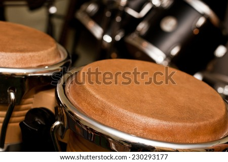 fragment bongos  - stock photo