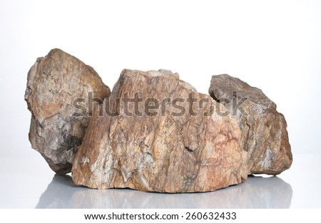 Fragment of granite  - stock photo