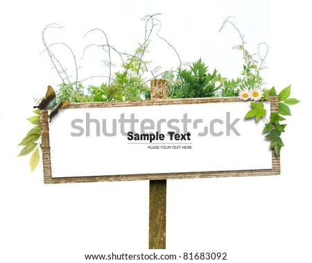 Frame image - stock photo