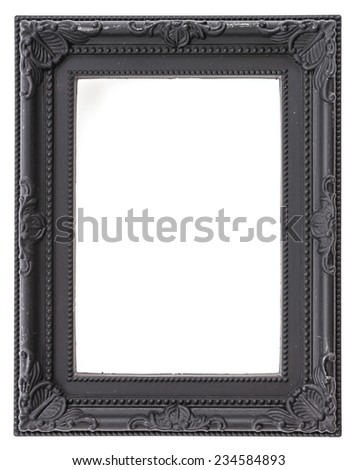 Frame isolated on white background - stock photo
