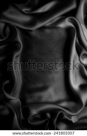 frame silk  background - stock photo
