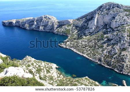 France  Coast - stock photo