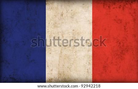 France flag background - stock photo