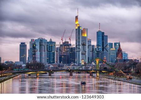 Frankfurt on Main, Germany - stock photo