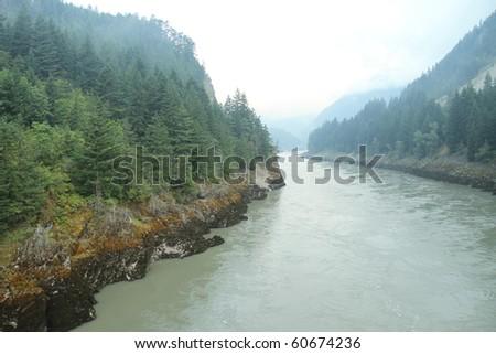 Fraser River - Canada - stock photo