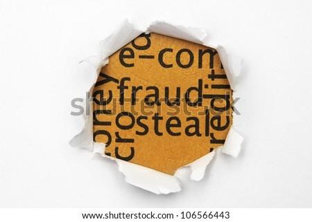 Fraud concept - stock photo