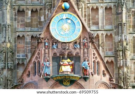 Frauenkirche, Nuremberg - stock photo