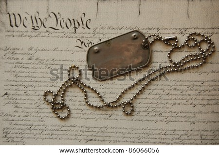 Freedom is not free - stock photo