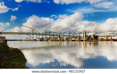 Freemont bridge - stock photo