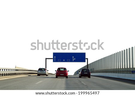 Freeway / highway  - stock photo