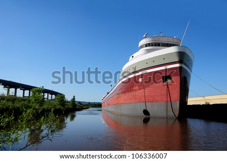 Freighter - stock photo