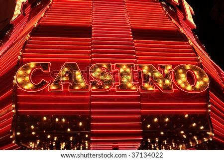 Fremont Street Experience, Las Vegas, USA - stock photo