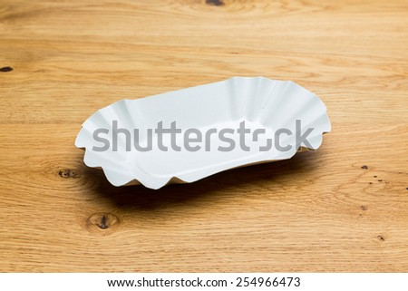 french fries cup Packaging material - stock photo