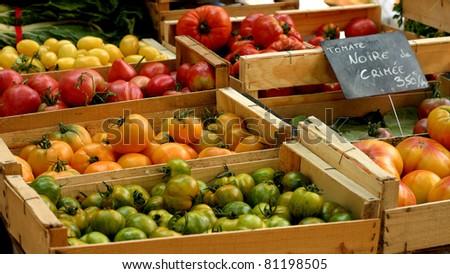 French Market - stock photo