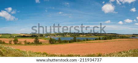 French River (Prince Edward Island, Canada) - stock photo