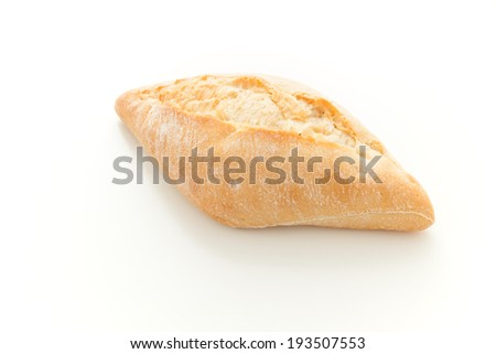 Fresh buns made of wheat flour - stock photo