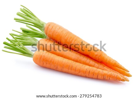 Fresh carrot - stock photo