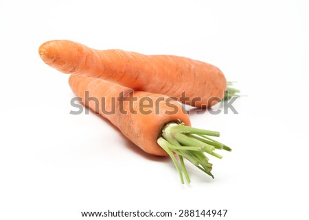 Fresh carrot - stock photo