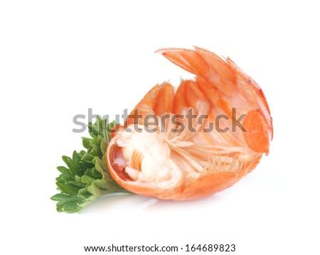 Fresh crayfish       - stock photo