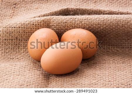 Fresh Eggs. - stock photo