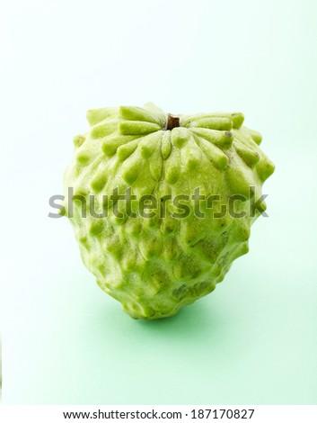 Fresh fruit,custard apple - stock photo