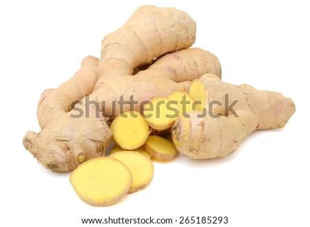 Fresh ginger - stock photo