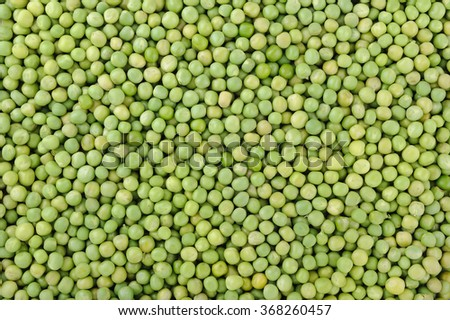 Fresh green peas for background - stock photo