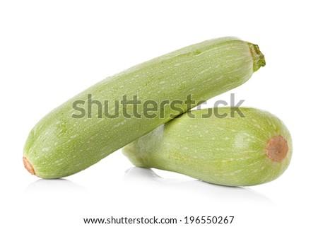 Fresh marrow vegetable - stock photo