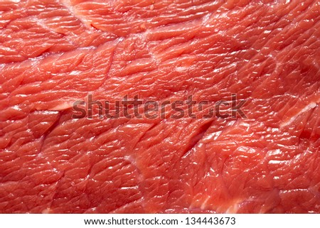 fresh meat as a background - stock photo