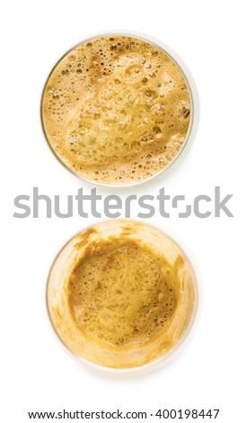 Fresh pressed juice isolated - stock photo