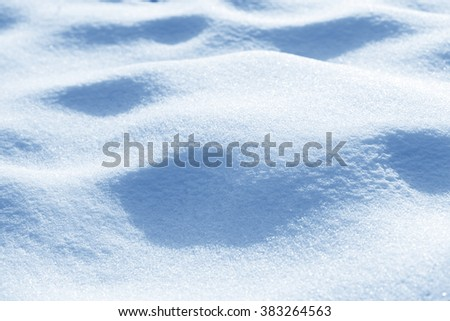 Fresh snow background texture - stock photo