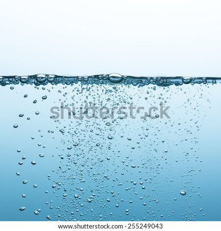 fresh sparkling drink water  - stock photo