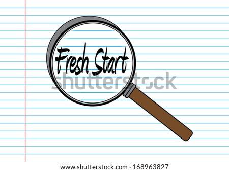 Fresh Start Concept - stock photo