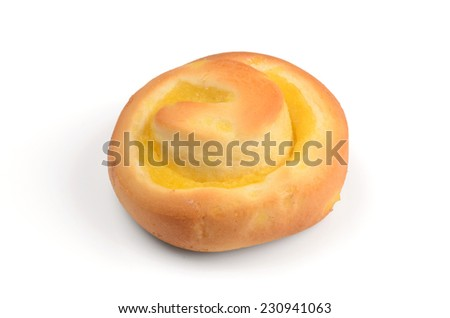 Fresh Sweet Homemade Bread Rolls - stock photo