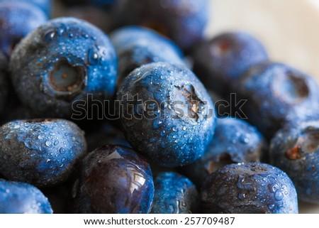 fresh tasty blueberries food background healthy lifestyle  medicine sight - stock photo
