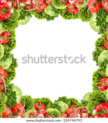 Fresh vegetable - stock photo